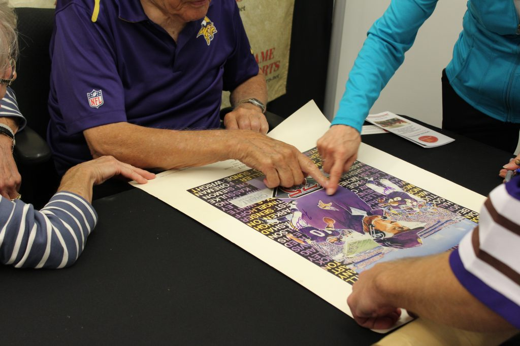 Signed vikings posters, sports collectibles, and memorabilia in Minneapolis, MN