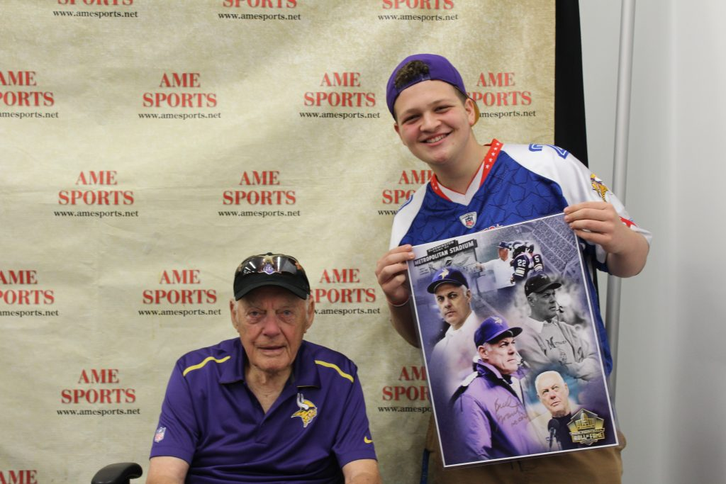 Autographed vikings poster and sports collectibles in Minneapolis, MN