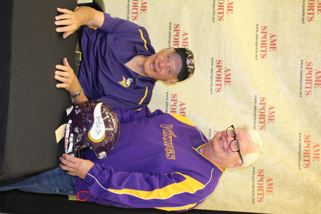 Autographed vikings memorabilia and collectibles in the Twin Cities, MN