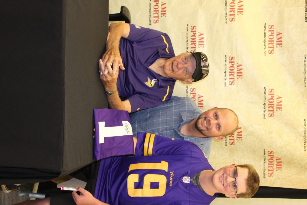 Signed vikings jerseys and sports collectibles in Minneapolis, MN