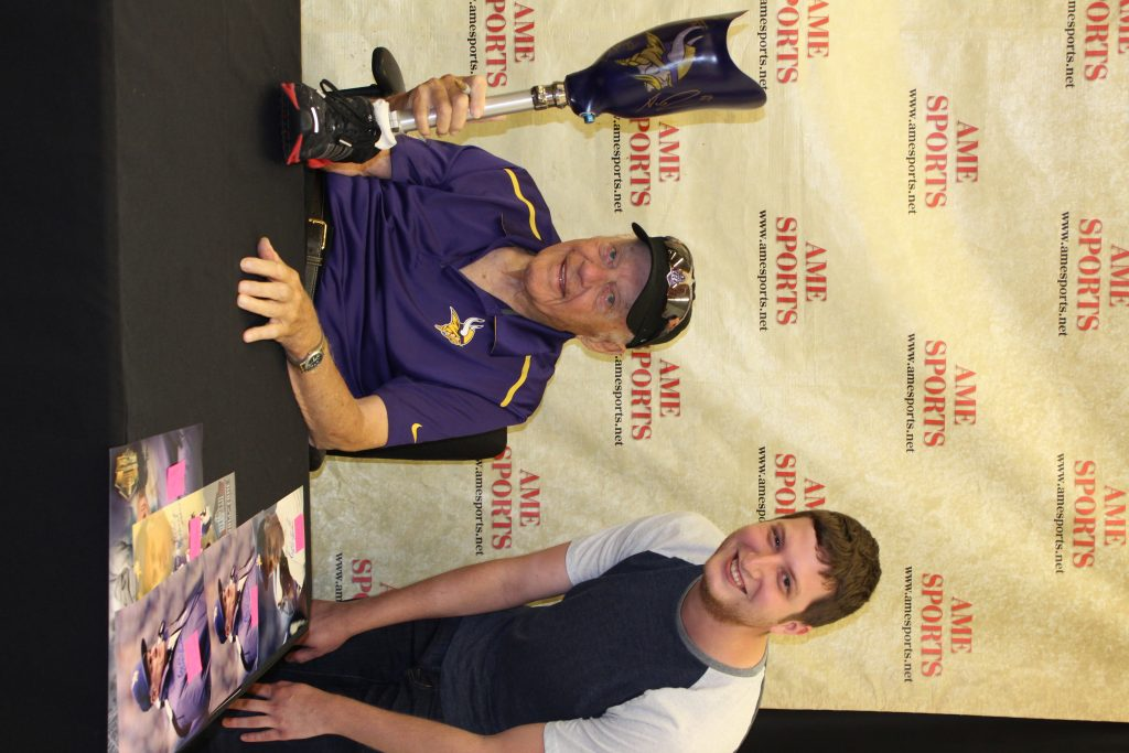 10th anniversary pro athlete signing event in the Twin Cities